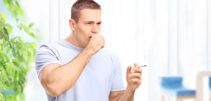 Hoste og rygning