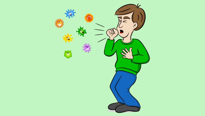 Vidste du, at hoste er kroppens forsøg på at fjerne noget ubehageligt?